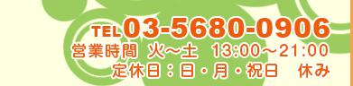 TEL:03-5680-0906
